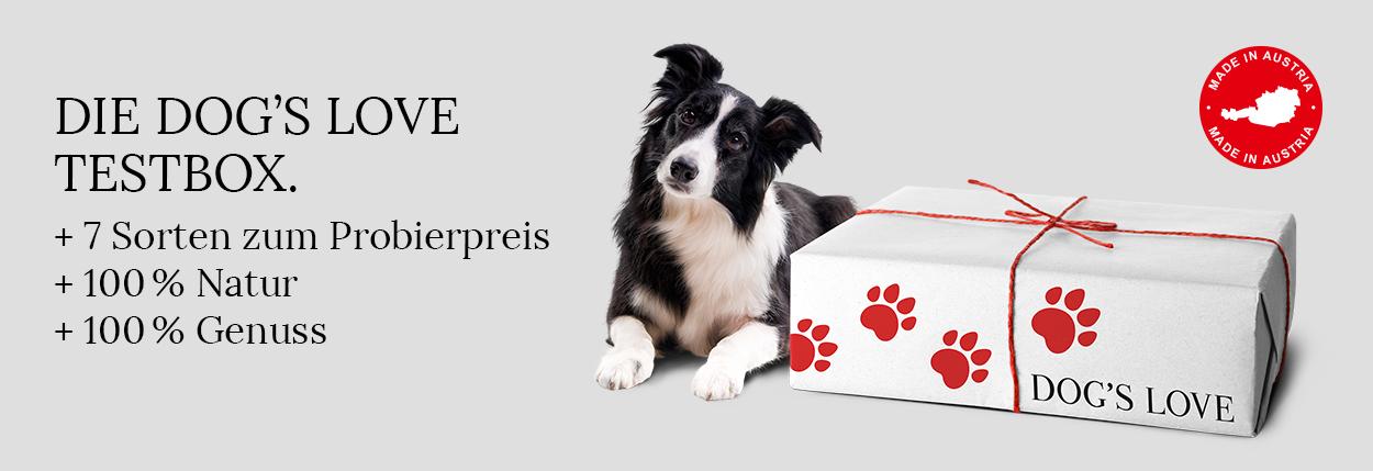 Testbox Hundefutter