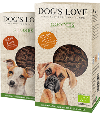 Hundeleckerlies DOG'S LOVE Goodies