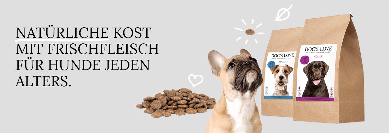 Hunde-Trockenfutter DOG'S LOVE