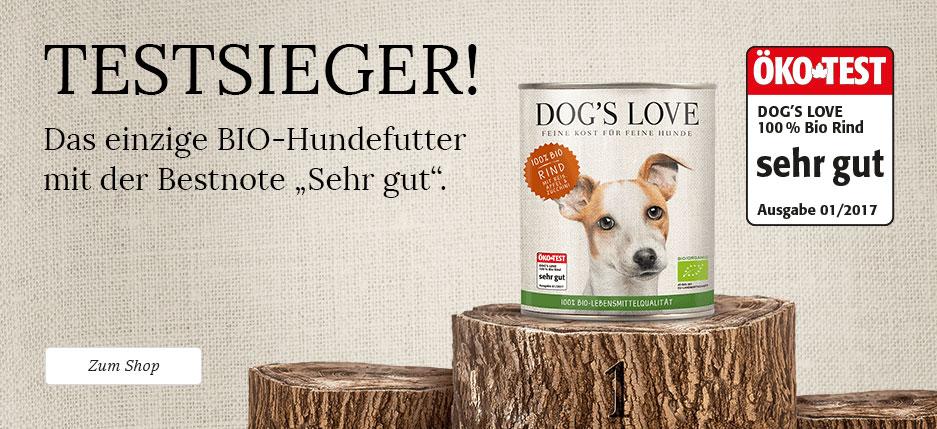 Hundefutter Testsieger