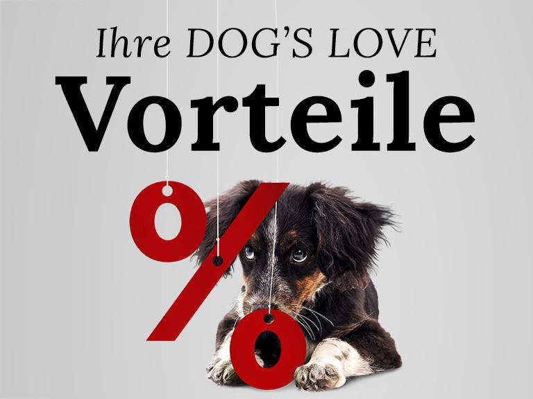 Ihre DOG'S LOVE Vorteile